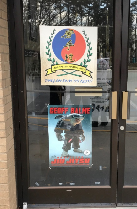 ladd-door-with-jiujitsu-poster